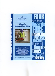 Safety in the use of abrasive wheels dvd £195