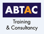 Manual handling online training (approved by IIRSM and CPD). ABTAC logo.