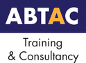 Risk assessment training. ABTAC logo.
